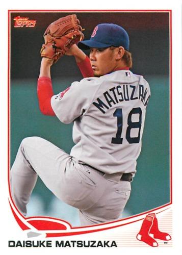 Photo of 2013 Topps #118 Daisuke Matsuzaka