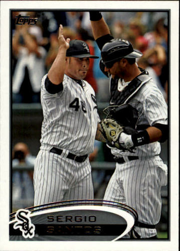 Photo of 2012 Topps #244 Sergio Santos