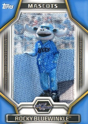 Photo of 2015 Topps Pro Debut Minor League Mascots #MLM25 Rocky Bluewinkle
