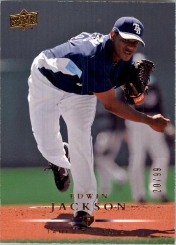 Photo of 2008 Upper Deck Gold #669 Edwin Jackson