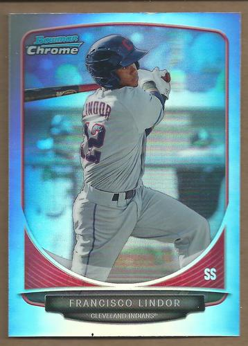 Photo of 2013 Bowman Chrome Draft Top Prospects Refractors #TP17 Francisco Lindo