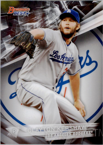 Photo of 2016 Bowman's Best #30 Clayton Kershaw