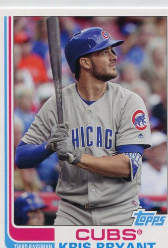 Photo of 2017 Topps Archives #200B Kris Bryant short print/grey jersey