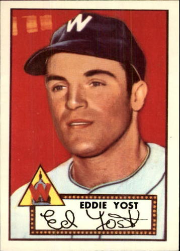 Photo of 1983 Topps 1952 Reprint #123 Eddie Yost