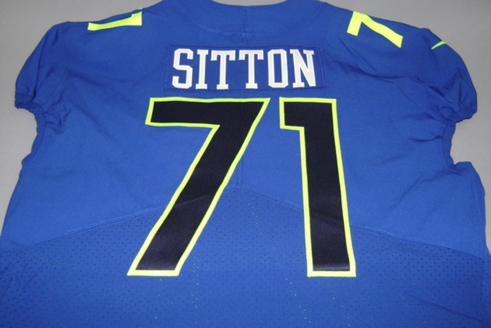 NFL Auction | NFL - BEARS JOSH SITTON GAME ISSUED NFC PRO BOWL ...