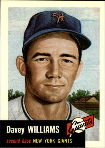 Photo of 1991 Topps Archives 1953 #120 Davey Williams