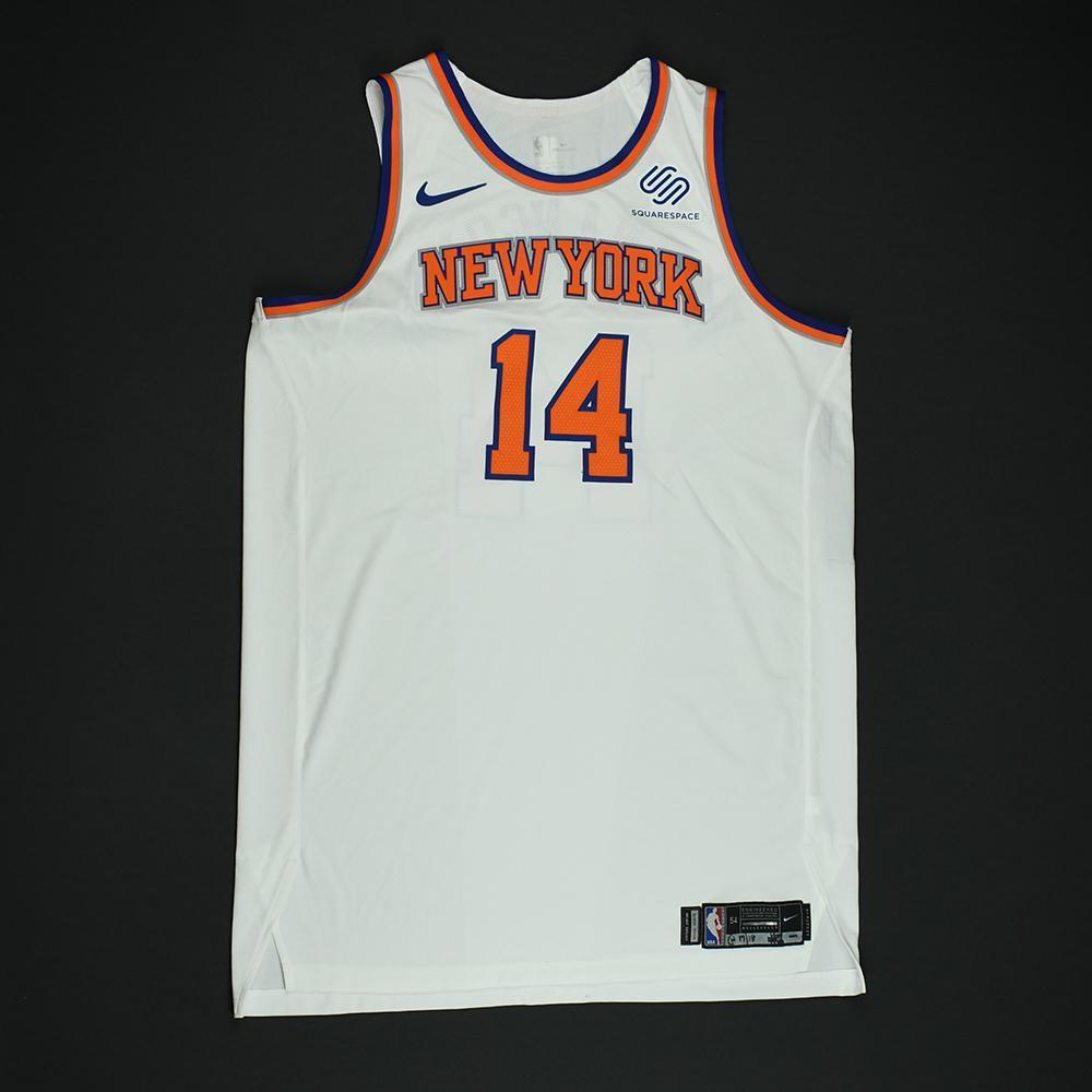 Willy Hernangomez - New York Knicks - NBA Christmas Day '17 Game-Worn Jersey - Dressed, Did Not Play