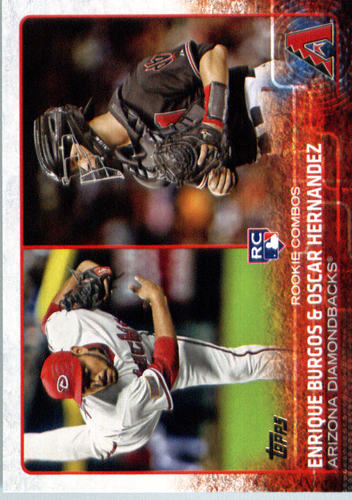 Photo of 2015 Topps Update #US359 Enrique Burgos RC/Oscar Hernandez RC
