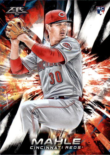 Photo of 2018 Topps Fire #110 Tyler Mahle RC