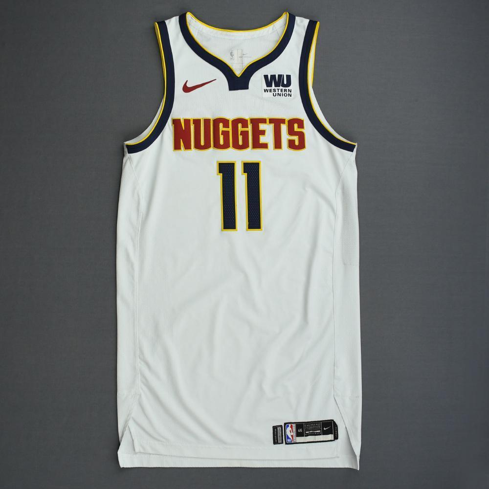 size 40 ec89d 80bb7 Monte Morris - Denver Nuggets - 2019 NBA Playoffs - Game ...