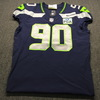 STS - Seahawks Jarran Reed Game Used Jersey (11/15/18) Size 46 (Washed by Equipment Manager)