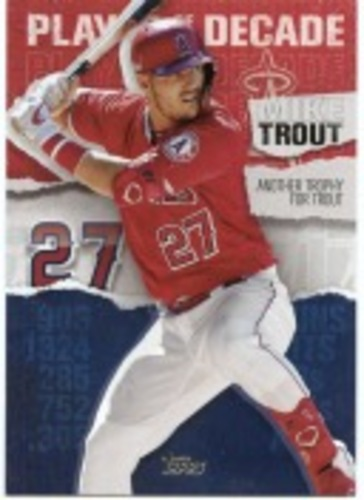 Photo of 2020 Topps Player of the Decade Mike Trout #MT18 Mike Trout