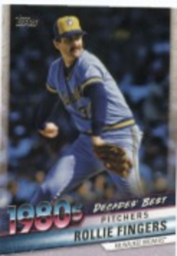 Photo of 2020 Topps Decades' Best Series 2 #DB67 Rollie Fingers