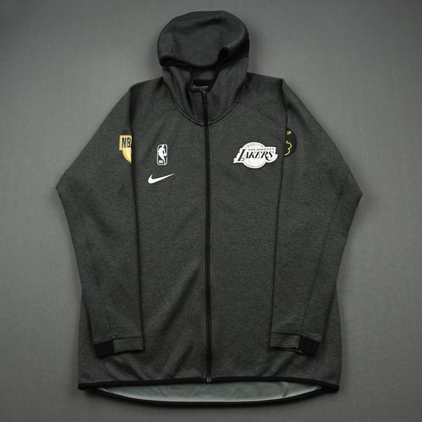 Image of Talen Horton-Tucker - Los Angeles Lakers - 2020 NBA Finals - Game-Issued Hooded Warmup Jacket