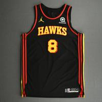 Danilo Gallinari - Atlanta Hawks - Kia NBA Tip-Off 2020 - Game-Worn Statement Edition Jersey - Hawks' Debut
