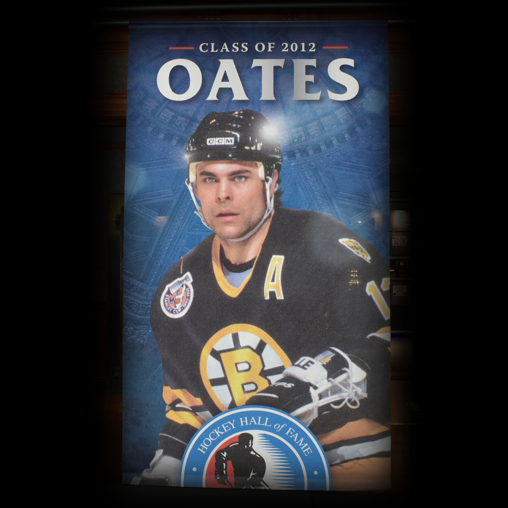 Adam Oates Hockey Hall of Fame Class of 2012 Banner (5ft x 9ft) - Limited Edition 1/1
