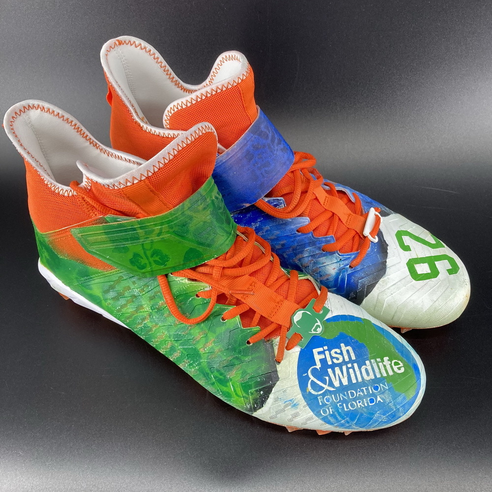 My Cause My Cleats - Dolphins Zach Siller Game Used Cleats 2020