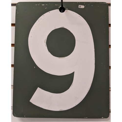 Photo of Fenway Park Green Monster Team Issued Scoreboard #9