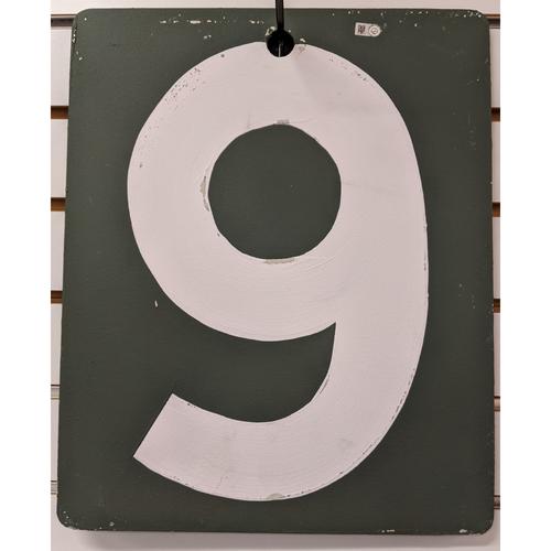 Fenway Park Green Monster Team Issued Scoreboard #9