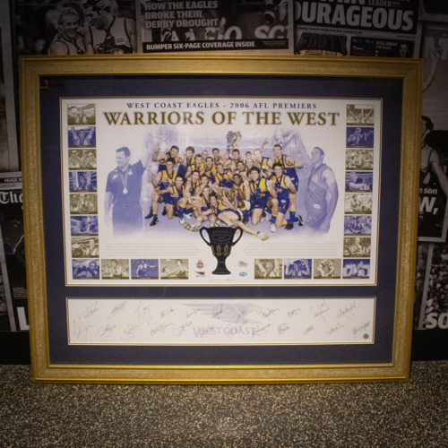 Photo of Warriors of the West - 2006 Premiers Piece