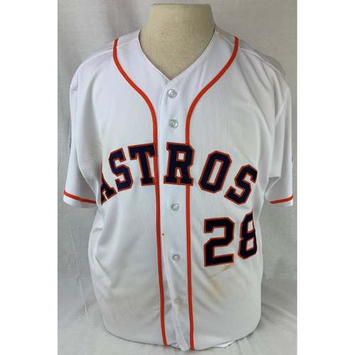 Photo of Robinson Chirinos 2019 World Series Game-Used Jersey - Game 2 - Size 46