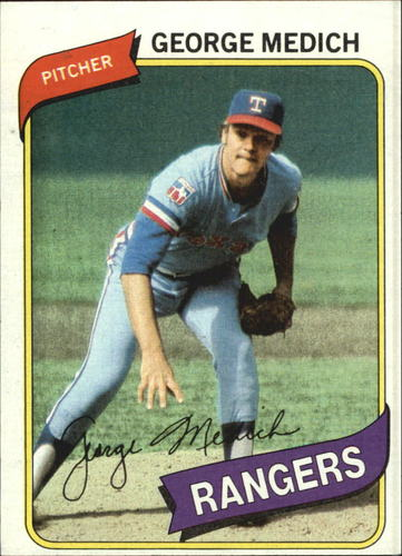 Photo of 1980 Topps #336 George Medich