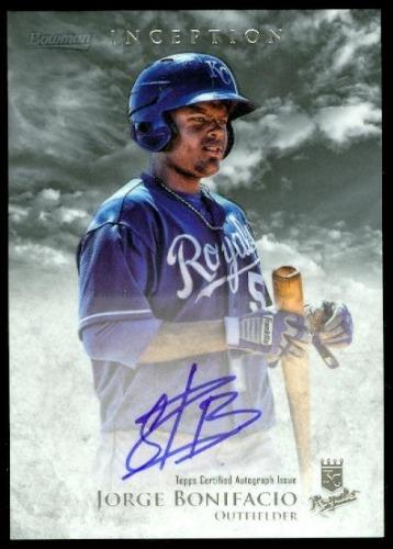 Photo of 2013 Bowman Inception Prospect Autographs #JBO Jorge Bonifacio