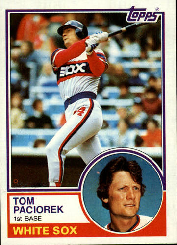 Photo of 1983 Topps #72 Tom Paciorek