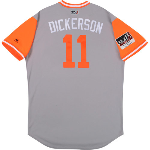 "Photo of Bobby ""Dickerson"" Dickerson Baltimore Orioles Game-Used Players Weekend Jersey"