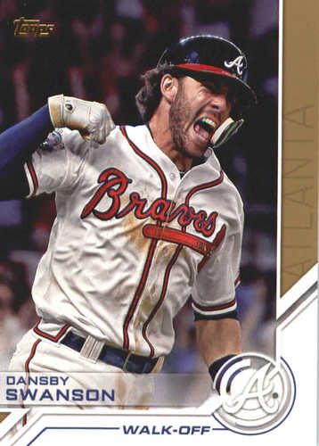 Photo of 2017 Topps Update Salute #USS31 Dansby Swanson