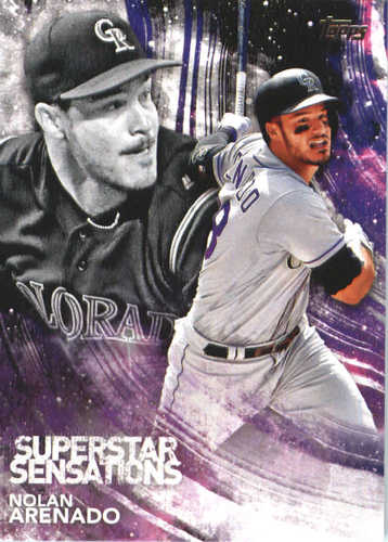 Photo of 2018 Topps Superstar Sensations #SSS23 Nolan Arenado