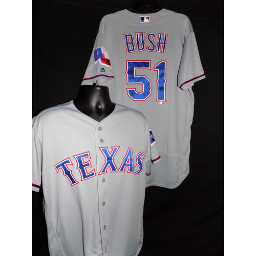 Photo of 2017 Matt Bush Grey Game-Used Jersey