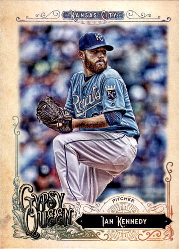 Photo of 2017 Topps Gypsy Queen #88 Ian Kennedy