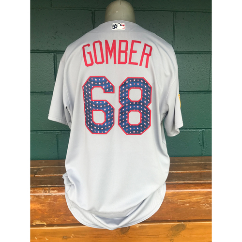 Photo of Cardinals Authentics: Game Worn Austin Gomber 4th of July Jersey