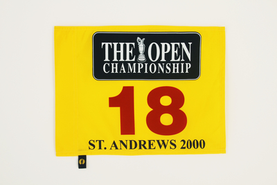 The 129th Open Official Souvenir Pin Flag - St Andrews 2000