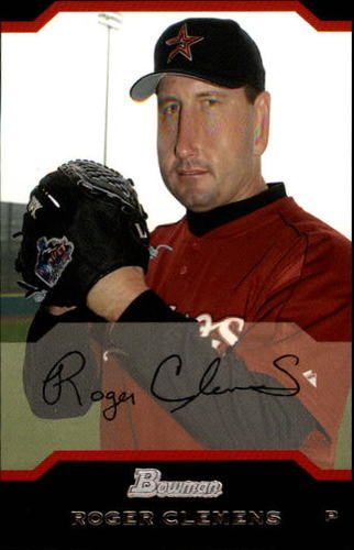 Photo of 2004 Bowman #37 Roger Clemens