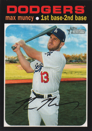 Photo of 2020 Topps Heritage #167 Max Muncy