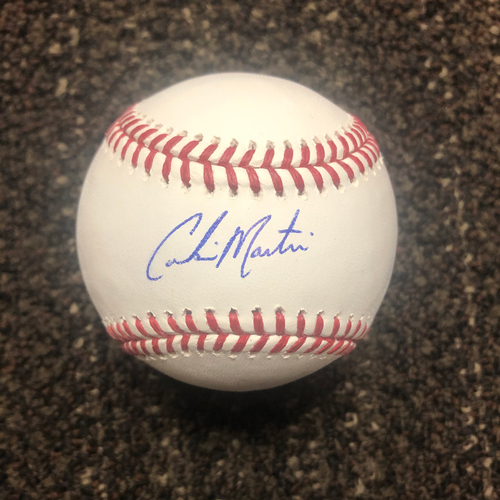 Photo of Corbin Martin Autographed Baseball