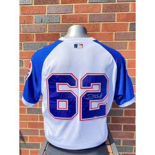 Touki Toussaint MLB Authenticated, Autographed and Game-Used 1974 Jersey