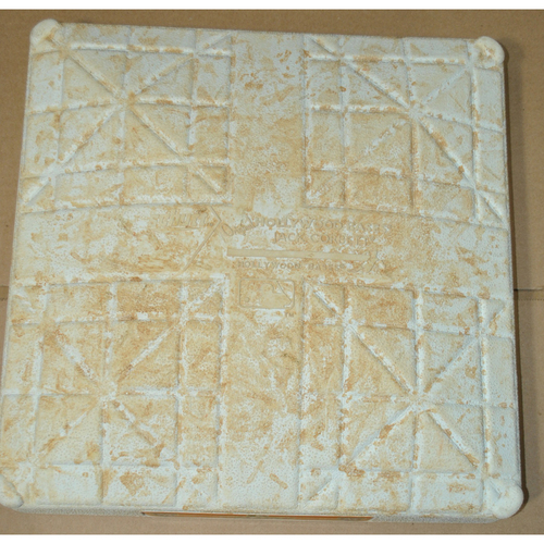 Photo of Game-Used Base - 2011 ALDS Games 1 (3rd Base Bottom 2), 2 (3rd Base Innings 3-5), 5 (3rd Base Innings 6-Top 8) - Detroit Tigers vs. New York Yankees