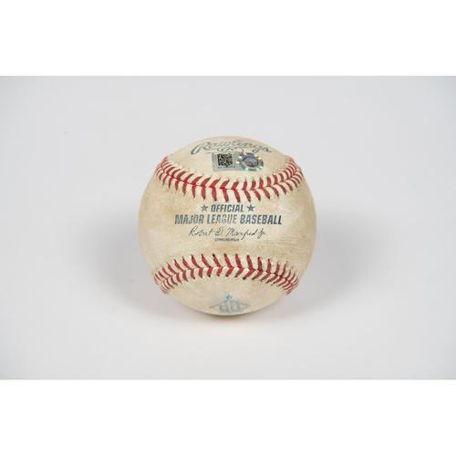 Photo of Game-Used Baseball - 7/18/21 vs. SEA - Shohei Ohtani Single
