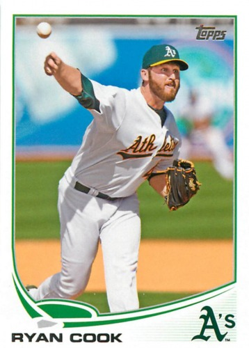 Photo of 2013 Topps #48 Ryan Cook