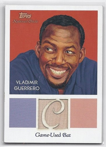 Photo of 2010 Topps National Chicle Relics #VG Vladimir Guerrero B