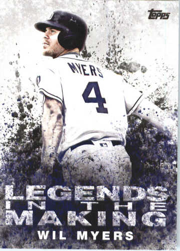 Photo of 2018 Topps Legends in the Making #LTMWM Wil Myers