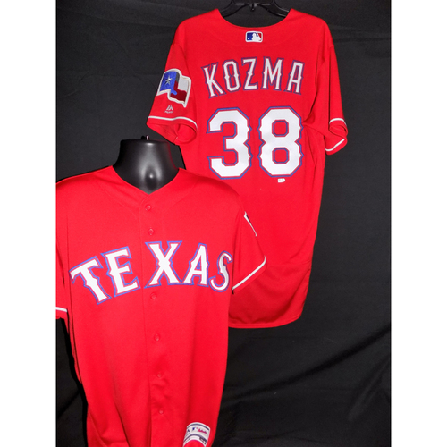 Photo of 2017 Pete Kozma Red Team Issued Jersey