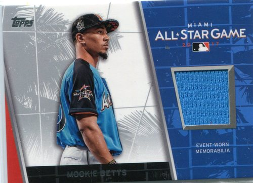 Photo of 2017 Topps Update All Star Stitches  Mookie Betts