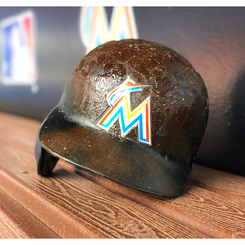 Photo of Game-Used Batting Helmet - Justin Bour (Size 7 5/8)