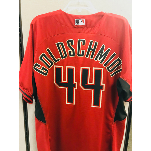 Photo of 2016 Team-Issued Batting Practice Paul Goldschmidt Jersey  - Size 50