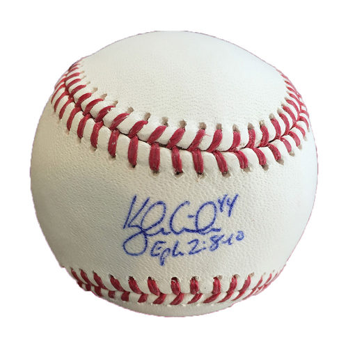 Photo of Autographed Kyle Gibson Baseball