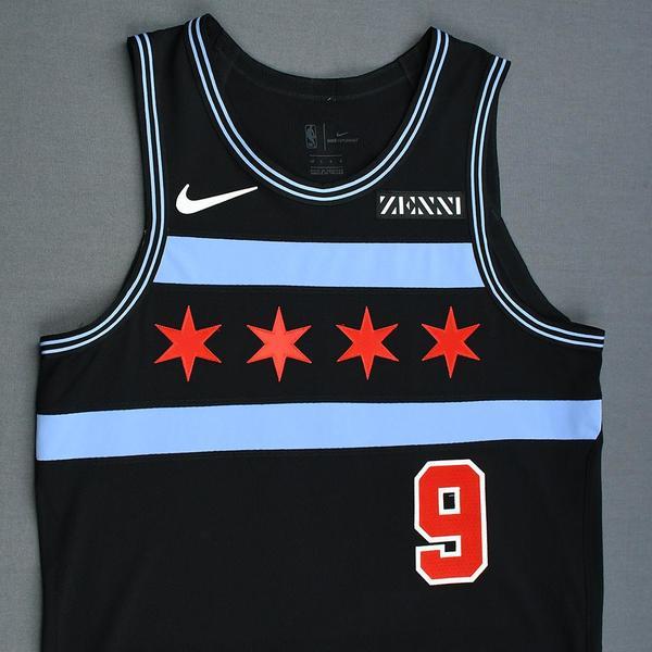 Antonio Blakeney - Chicago Bulls - Game-Worn City Edition Jersey ... 02a565e1d